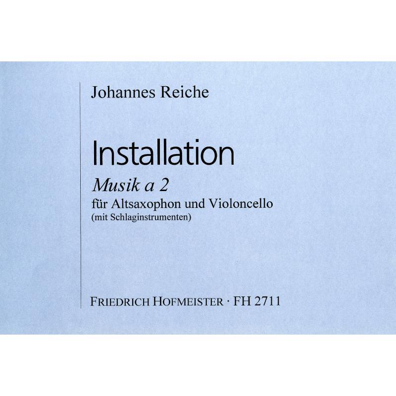 Titelbild für FH 2711 - INSTALLATION MUSIK A 2
