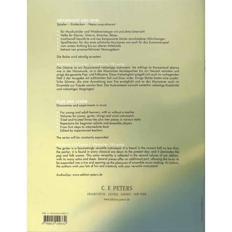 Notenbild für EP 11072B - VIEL SAITIG 2