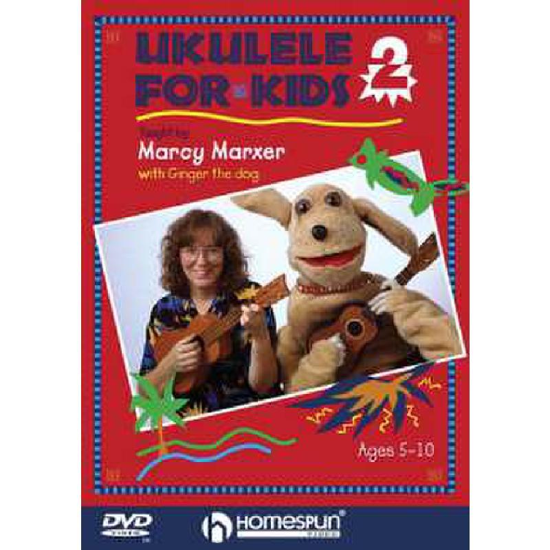 Titelbild für HL 641668 - UKULELE FOR KIDS 2