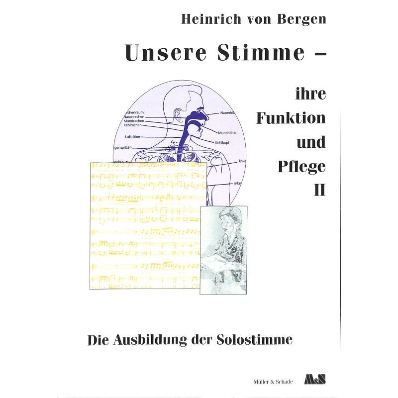 Produktinformationen zu UNSERE STIMME - IHRE FUNKTION + PFLEGE BD 2 SCHADE 1650