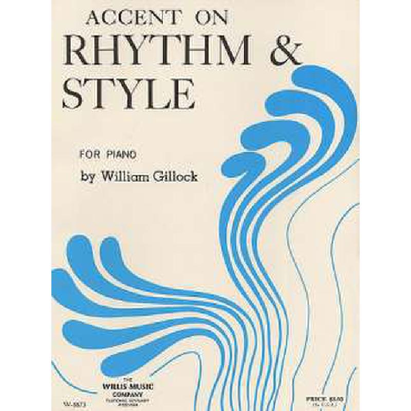 Titelbild für MSWMC 500302 - ACCENT ON RHYTHM & STYLE