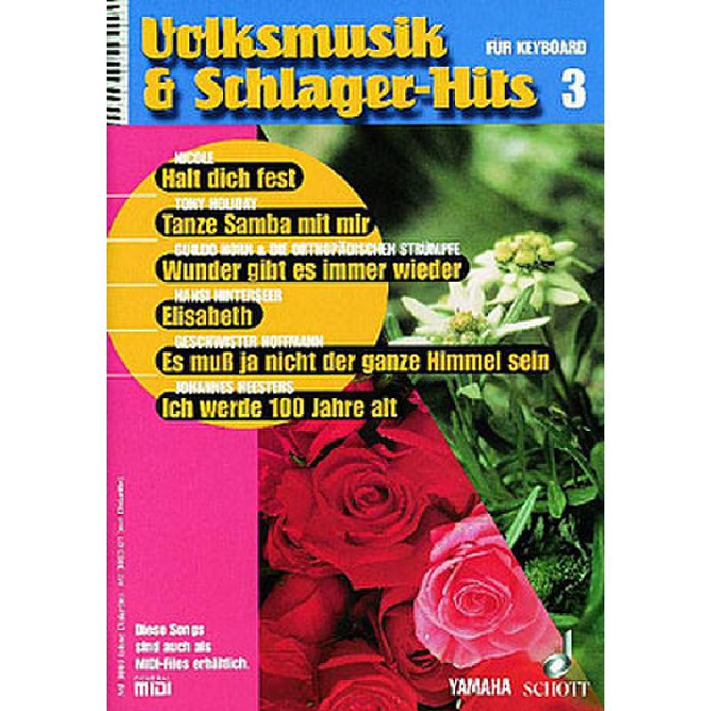 Titelbild für MF 3003 - VOLKSMUSIK + SCHLAGERHITS 3