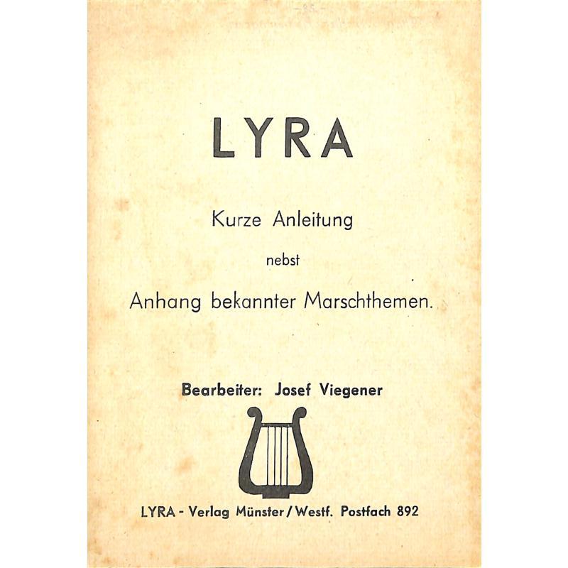 Titelbild für LYRA 3553502 - LYRA - KURZE ANLEITUNG