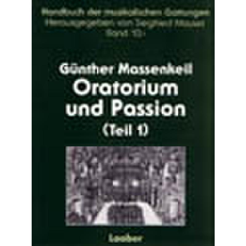 Titelbild für LAABER 2761 - ORATORIUM + PASSION 1