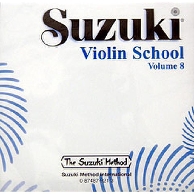 Titelbild für SBMT 921 - VIOLIN SCHOOL 8