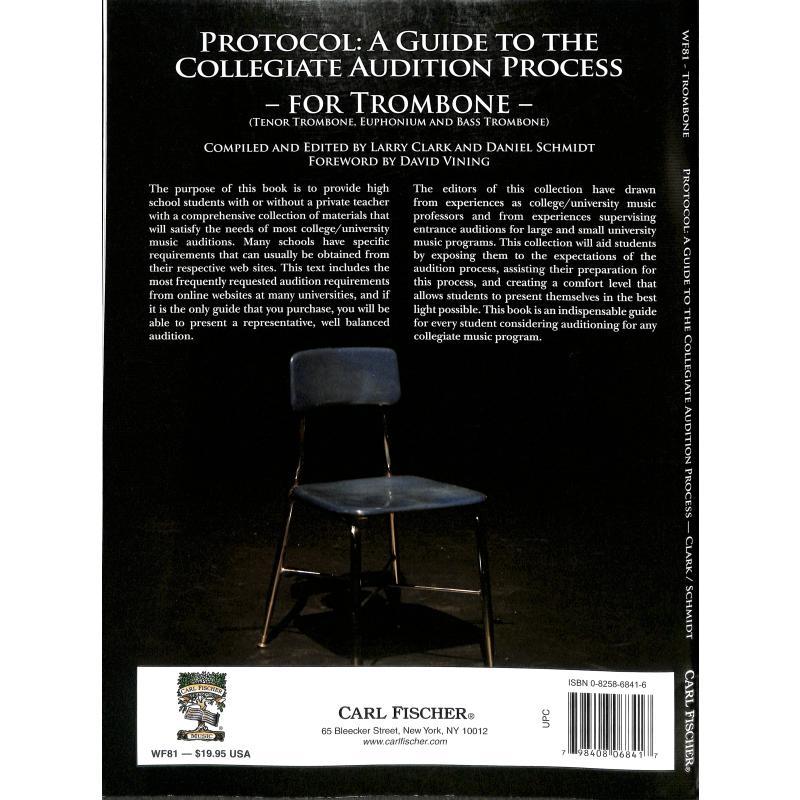 Notenbild für CF -WF81 - PROTOCOL - A GUIDE TO THE COLLEGIATE