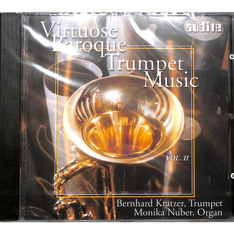 Titelbild für HER 10102 - VIRTUOSE BAROQUE TRUMPET MUSIC 2