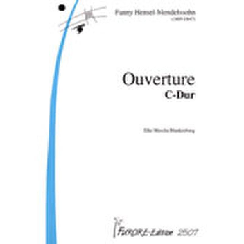 Titelbild für FUE 2507 - OUVERTUERE C-DUR