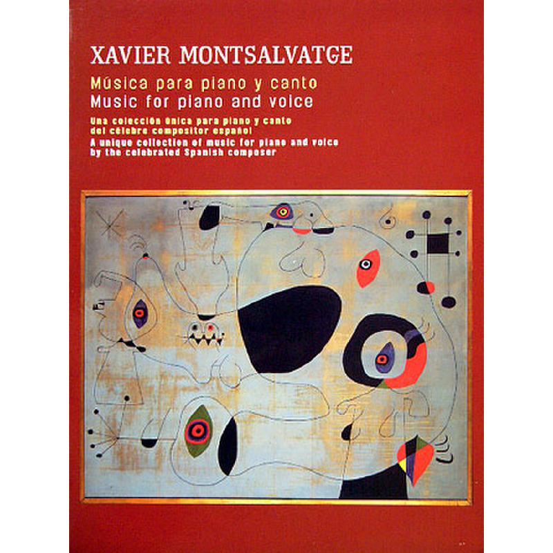 Titelbild für UMP 27885 - MUSIC FOR PIANO AND VOICE
