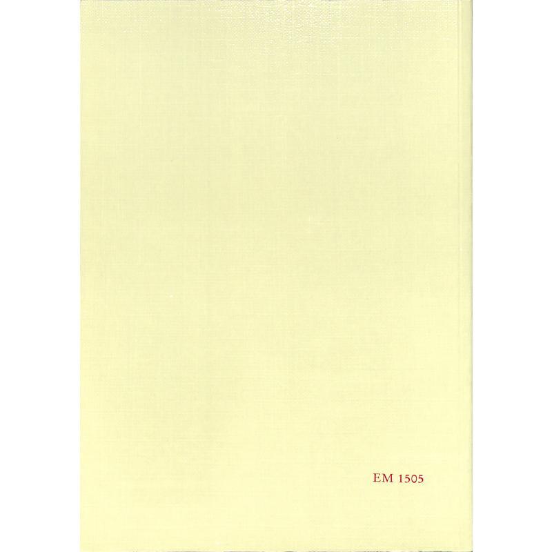 Notenbild für MERS 1505 - ACTA ORGANOLOGICA BD 25