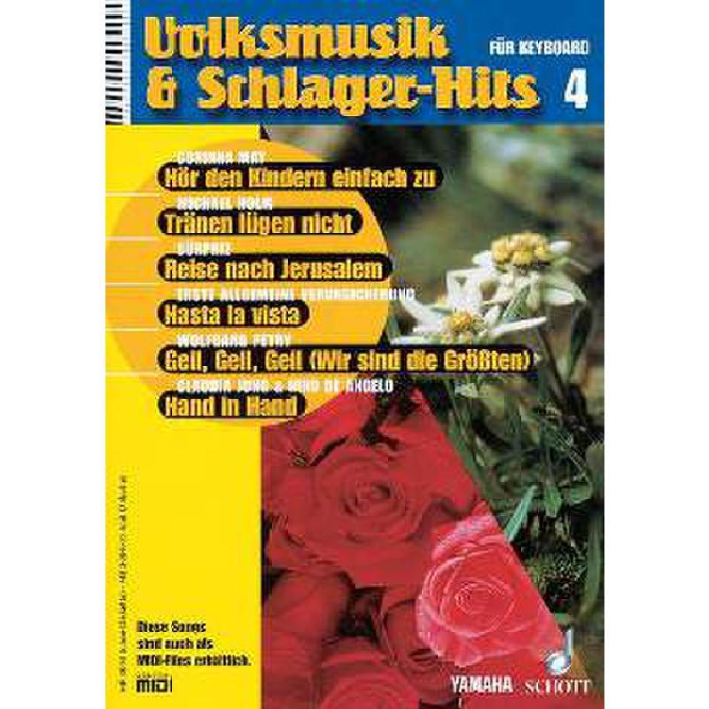 Titelbild für MF 3004 - VOLKSMUSIK + SCHLAGERHITS 4