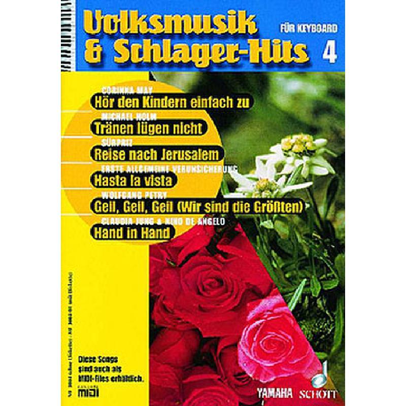 Titelbild für MF 3004-01 - VOLKSMUSIK + SCHLAGERHITS 4
