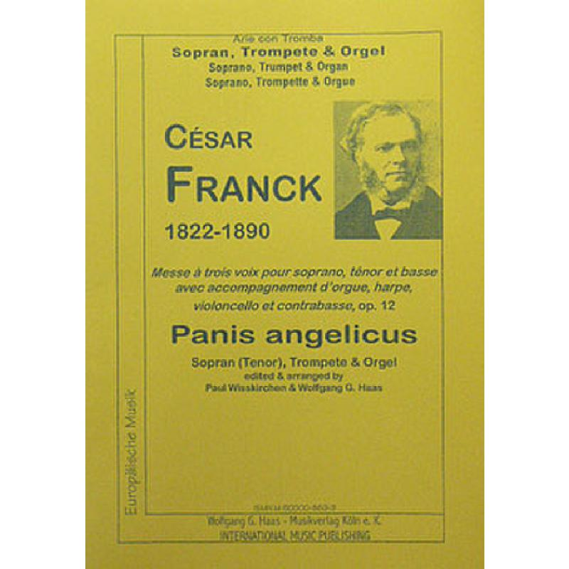 Titelbild für HAAS 869-9 - PANIS ANGELICUS