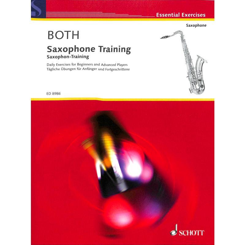 Titelbild für ED 8986 - SAXOPHON TRAINING