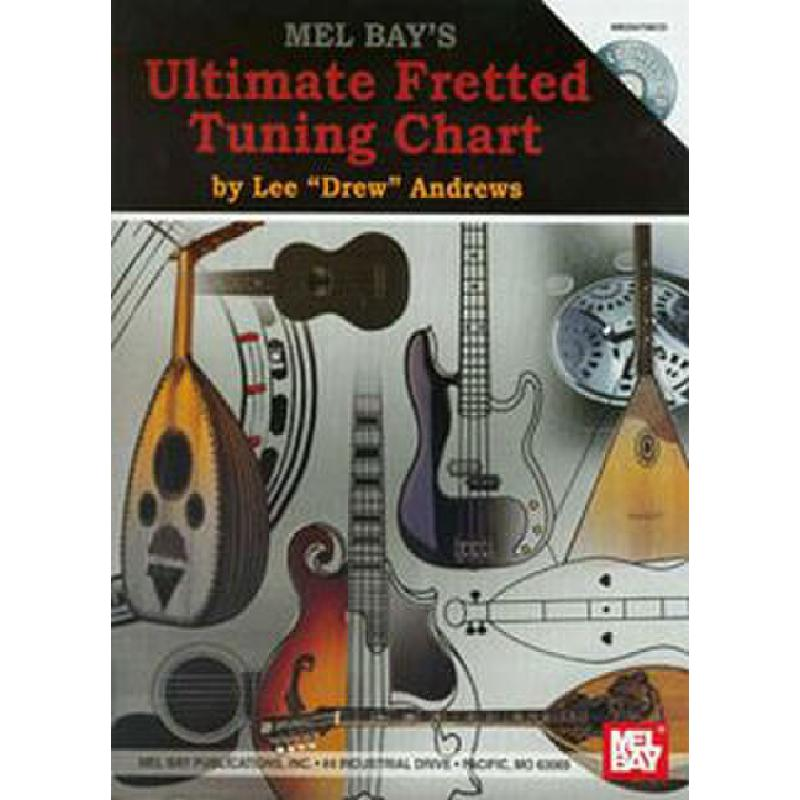 Titelbild für MB 20475BCD - ULTIMATE FRETTED TUNING CHART