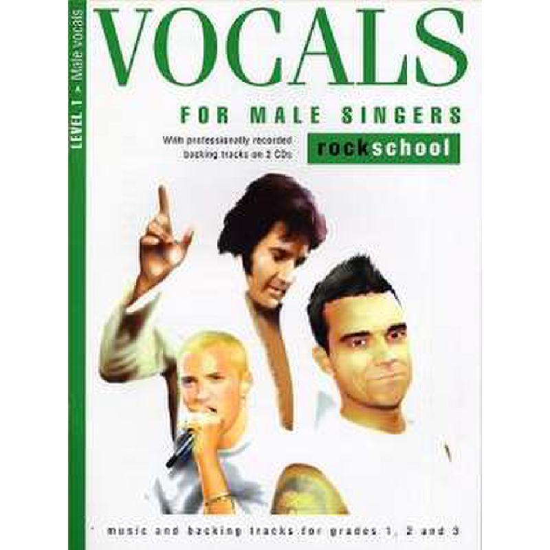 Titelbild für MSRSK 020097 - VOCALS FOR MALE SINGERS LEVEL 1