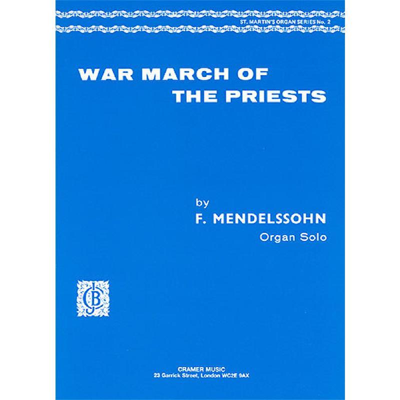Titelbild für CRAMER 90085 - WAR MARCH OF THE PRIESTS