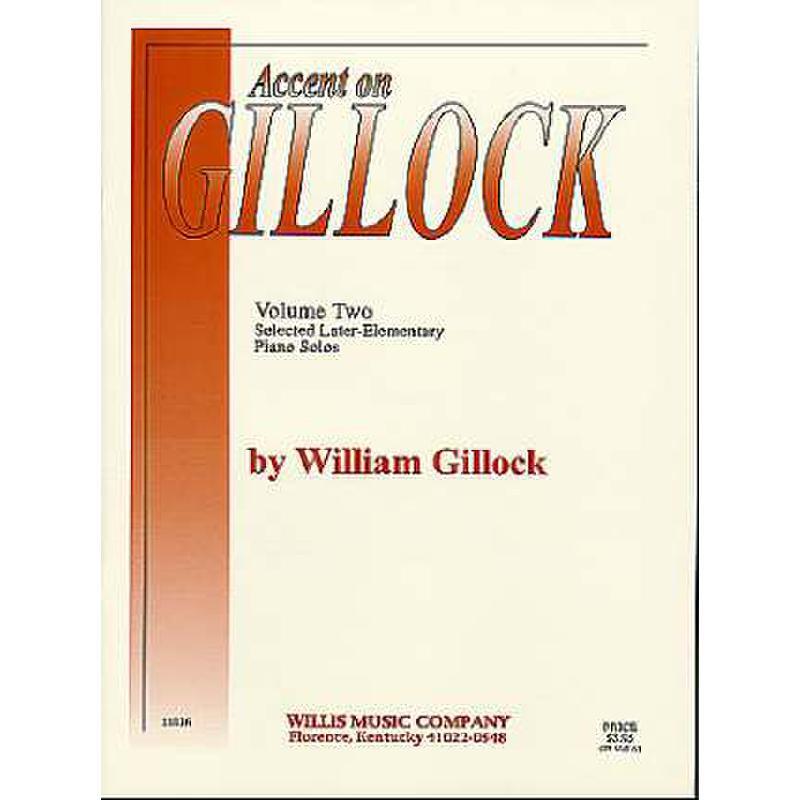 Titelbild für HL 405994 - ACCENT ON GILLOCK 2