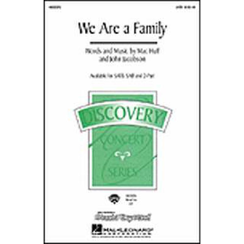 Titelbild für HL 8551596 - WE ARE A FAMILY