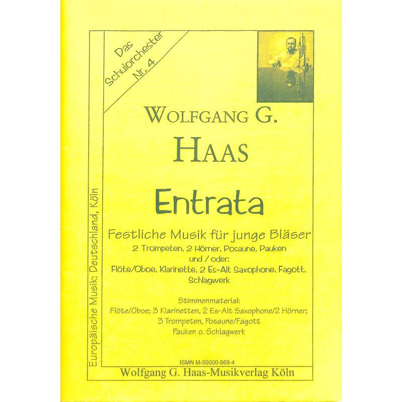 Titelbild für HAAS 989-4 - ENTRATA