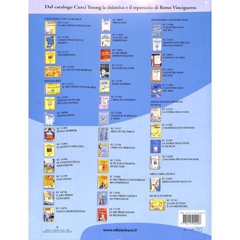 Notenbild für CURCI 11298 - A QUATTRO MANI NEL BLUE