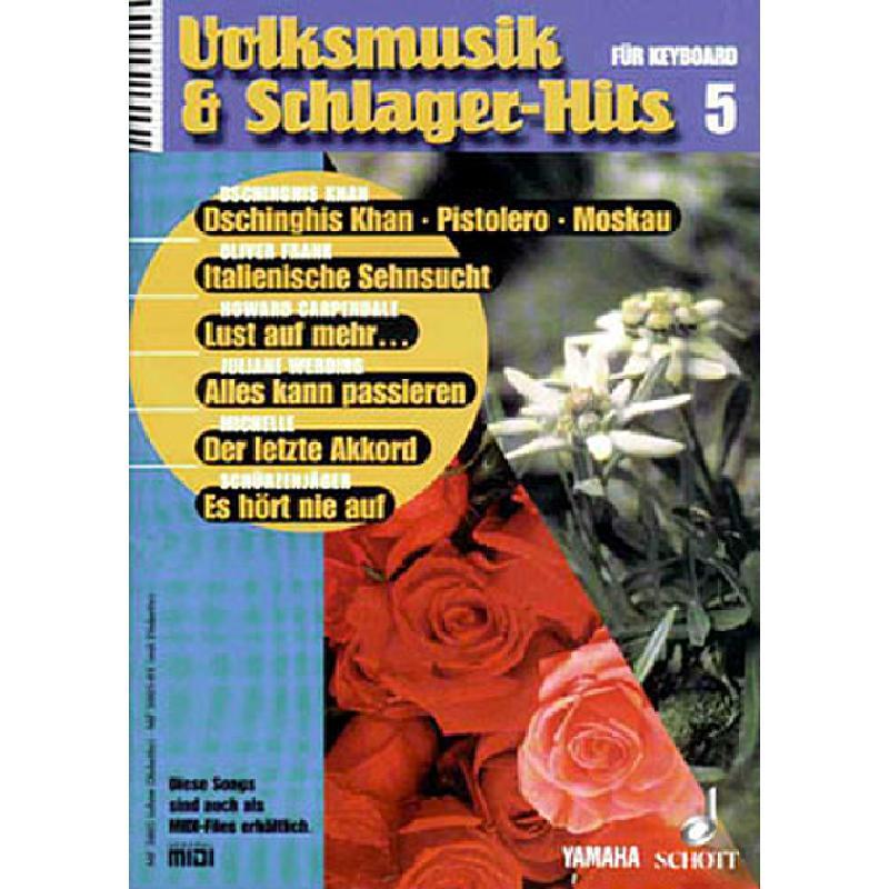 Titelbild für MF 3005-01 - VOLKSMUSIK + SCHLAGERHITS 5