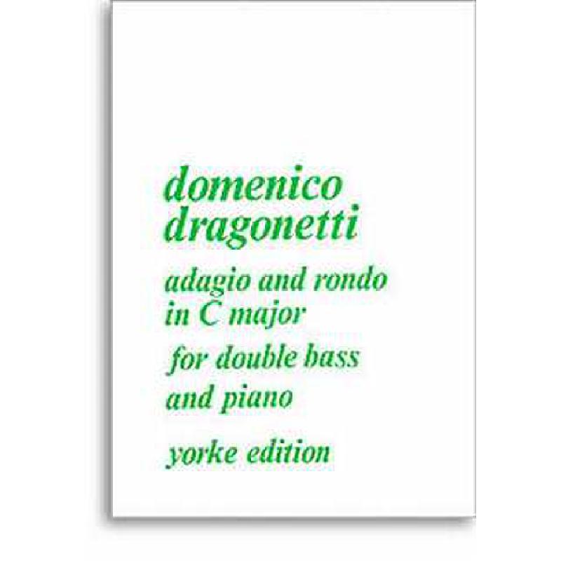 Titelbild für YE 0043 - ADAGIO + RONDO C-DUR
