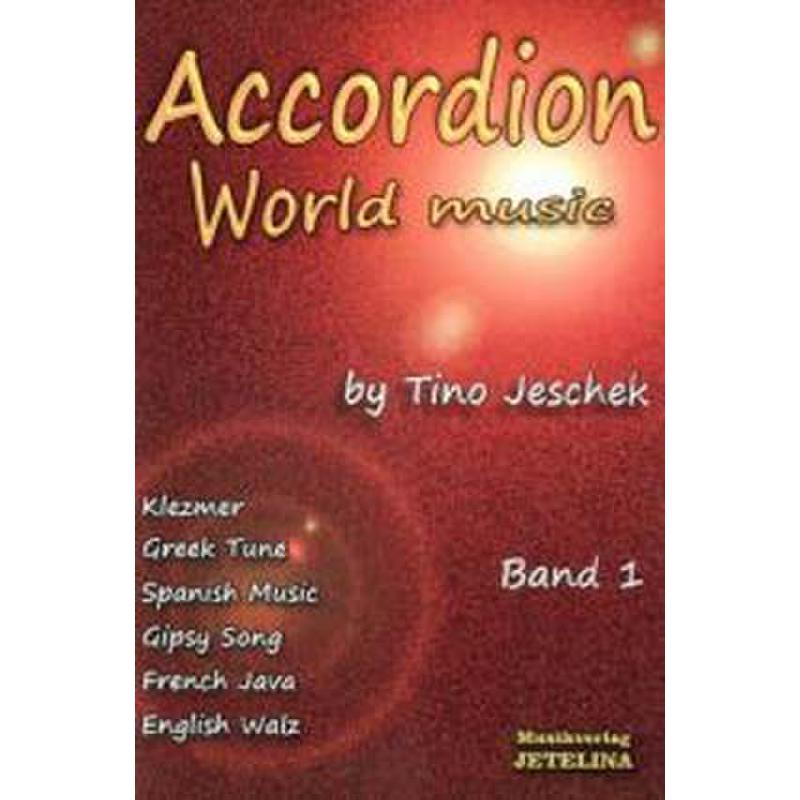 Titelbild für JETELINA 77300050 - ACCORDION WORLD MUSIC 1