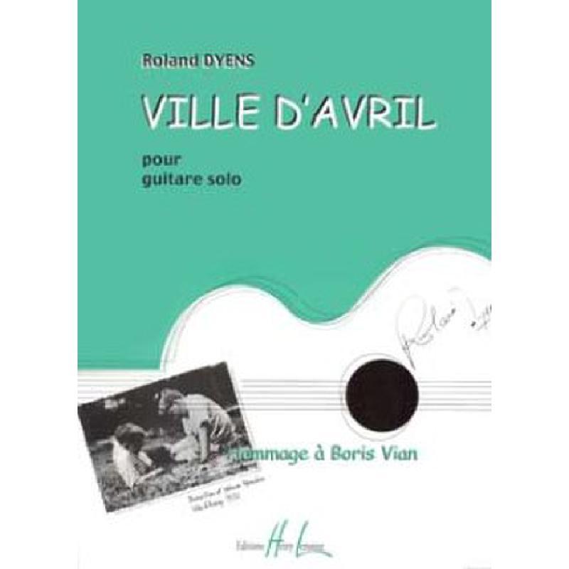 Titelbild für LEMOINE 26731 - VILLE D'AVRIL