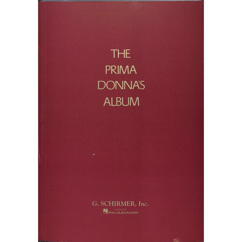 Titelbild für GS 32555 - THE PRIMA DONNA'S ALBUM
