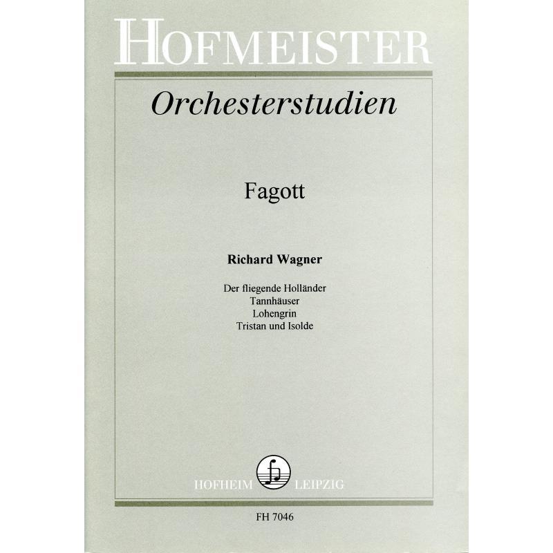 Titelbild für FH 7046 - ORCHESTERSTUDIEN WAGNER