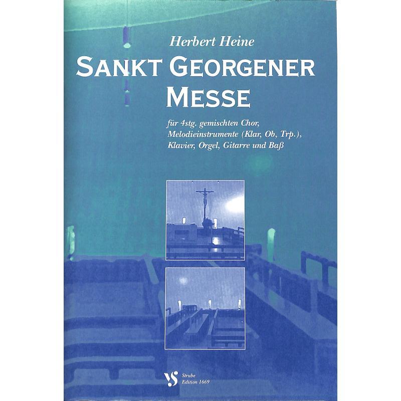 Titelbild für VS 1669 - SANKT GEORGENER MESSE