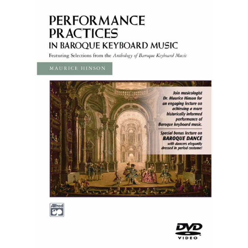 Titelbild für ALF 21443 - PERFORMANCE PRACTICES IN BAROQUE KEYBOARD MUSIC
