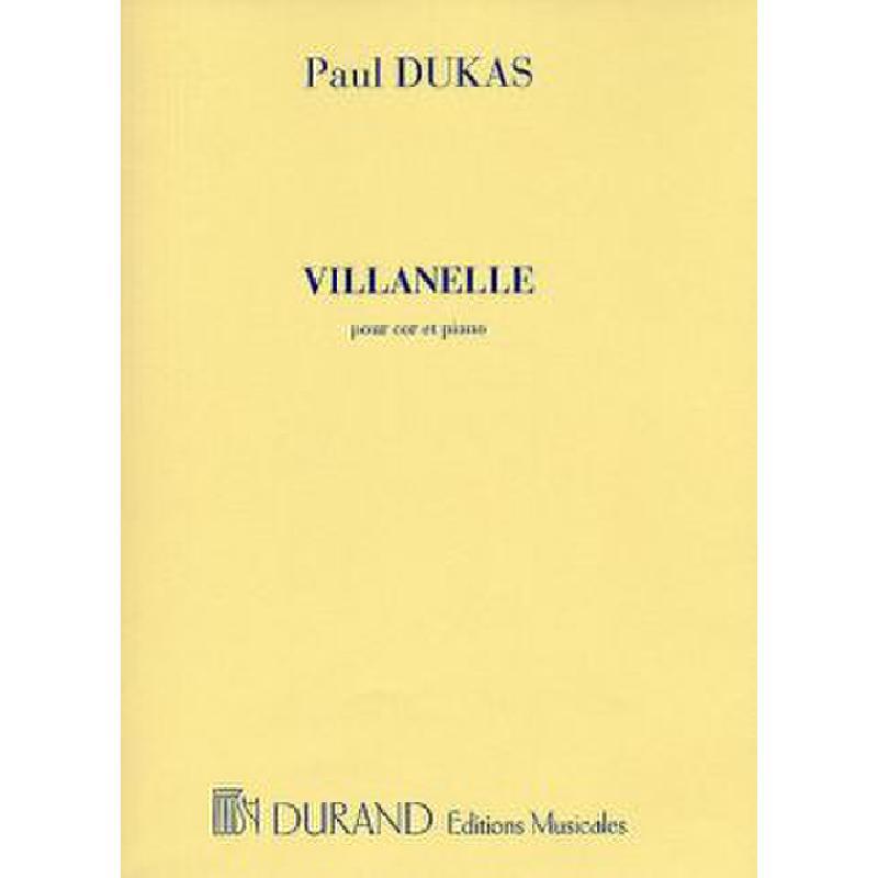 Titelbild für DF 6797 - Villanelle