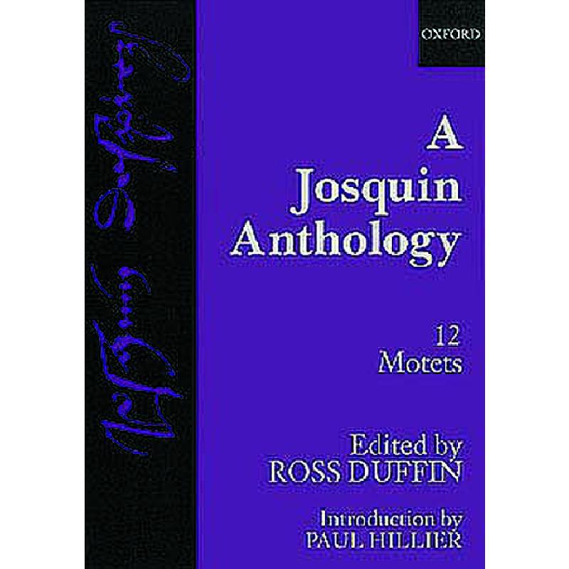 Titelbild für ISBN 0-19-353218-2 - A JOSQUIN ANTHOLOGY