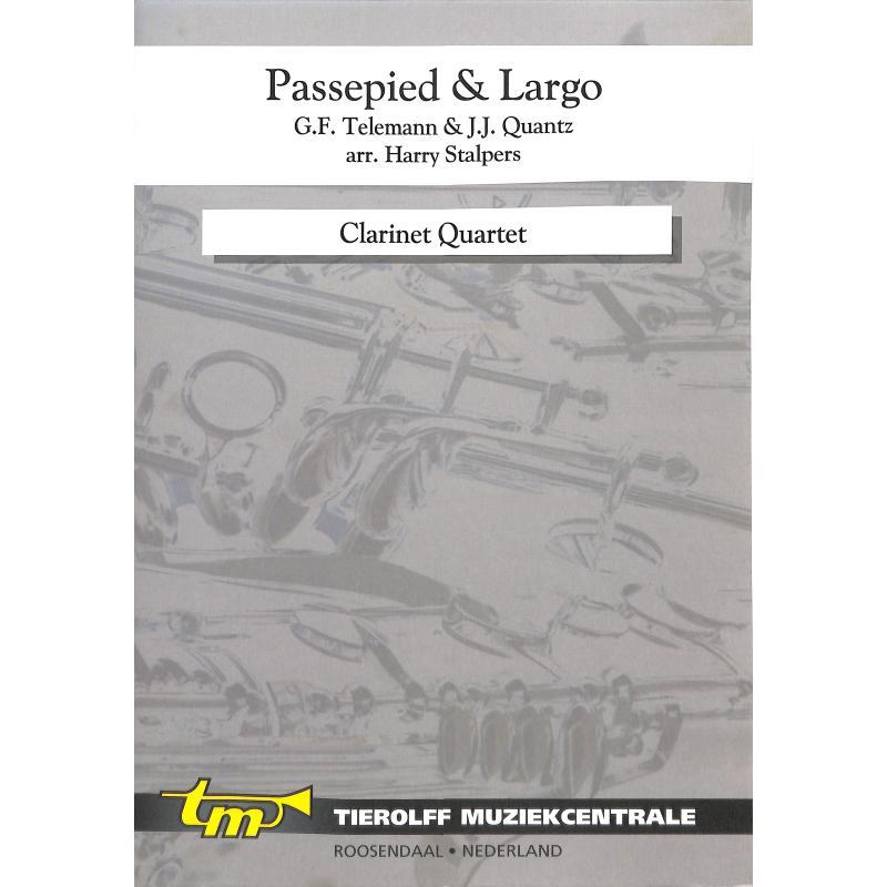 Titelbild für TIEROLFF -S4515A - PASSEPIED + LARGO