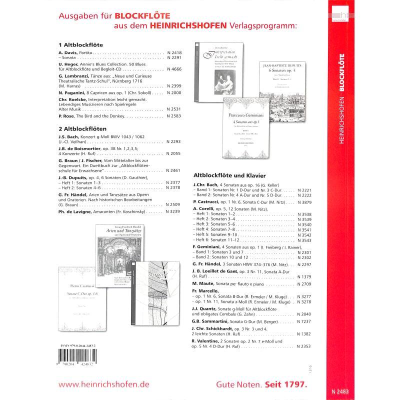 Notenbild für N 2483 - VERZIEREN LEICHT GEMACHT - 43 SPIELSTUECKE