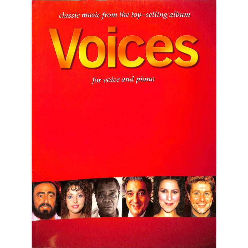 Titelbild für CH 65252 - VOICES - CLASSIC MUSIC FROM THE TOP SELLING ALBUM