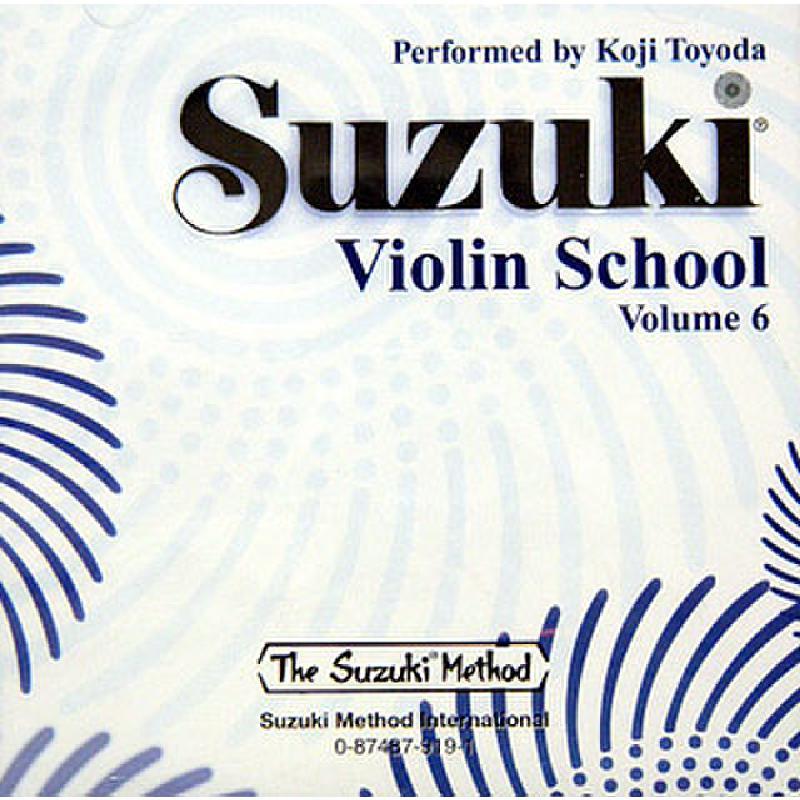 Titelbild für SBMT 919 - VIOLIN SCHOOL 6