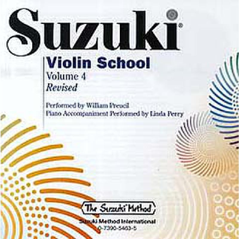 Titelbild für ALF 30724 - VIOLIN SCHOOL 4 - REVISED EDITION