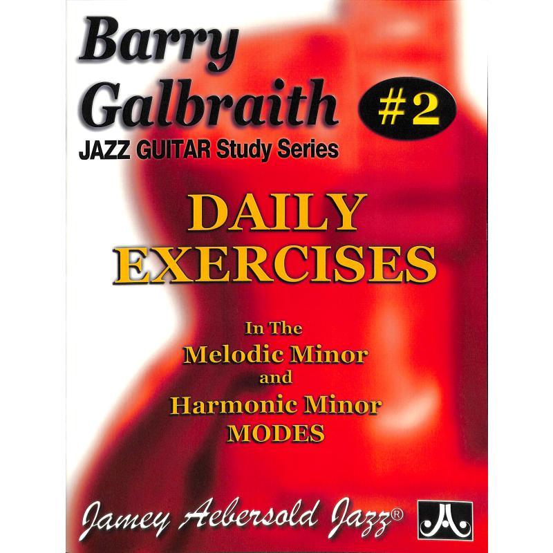 Titelbild für AEB -BG2 - DAILY EXERCISES IN THE MELODIC & HARMONIC MINOR MODES