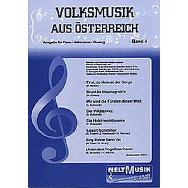 Titelbild für WM -VM4 - VOLKSMUSIK AUS OESTERREICH 4