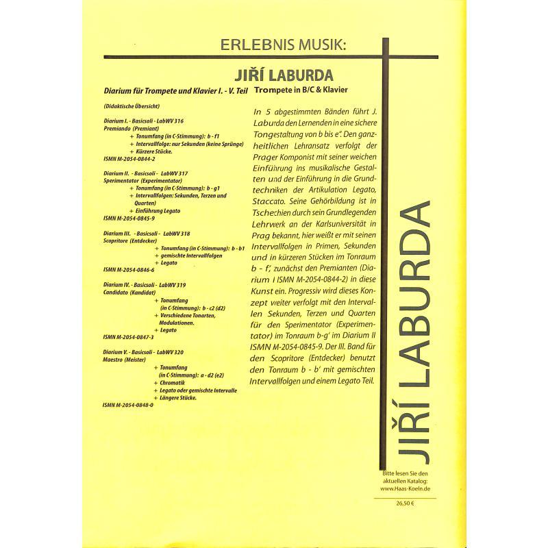 Notenbild für HAAS 1296-8 - 3 INVENTIONEN LABWV 335