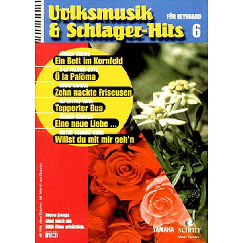 Titelbild für MF 3006 - VOLKSMUSIK + SCHLAGERHITS 6