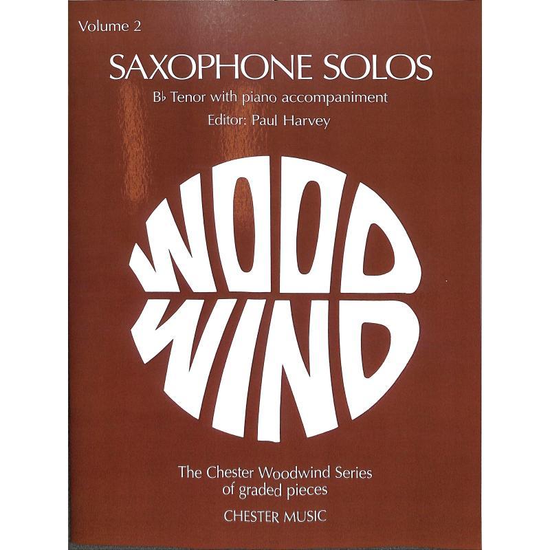 Titelbild für CH 55208 - SAXOPHONE SOLOS 2