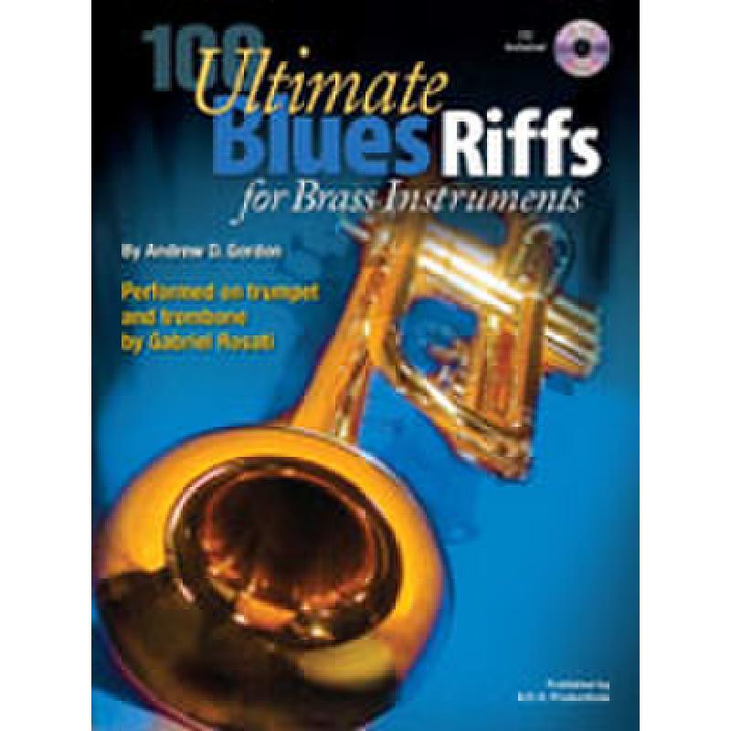 Titelbild für ADG 119 - ULTIMATE BLUES RIFFS FOR BRASS INSTRUMENTS