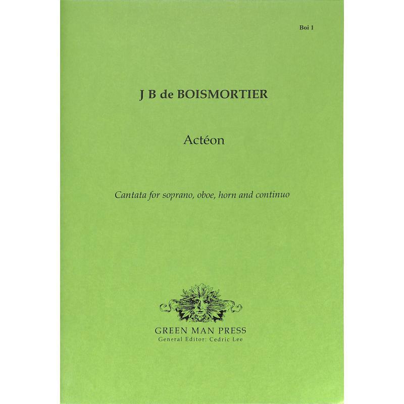 Titelbild für GREEN -BOI-1 - ACTEON - KANTATE