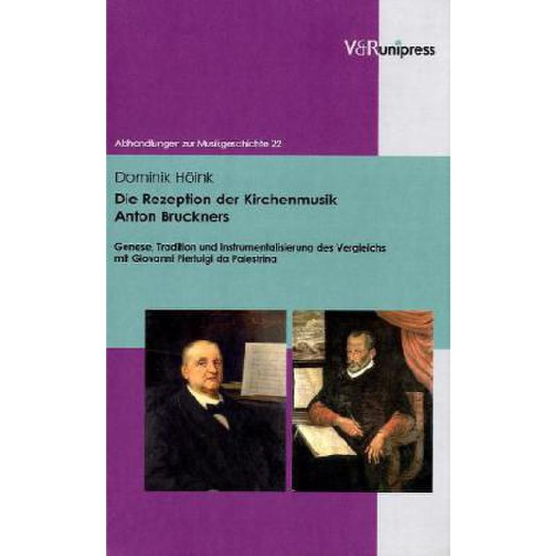 Titelbild für 978-3-89971-601-6 - DIE REZEPTION DER KIRCHENMUSIK ANTON BRUCKNERS