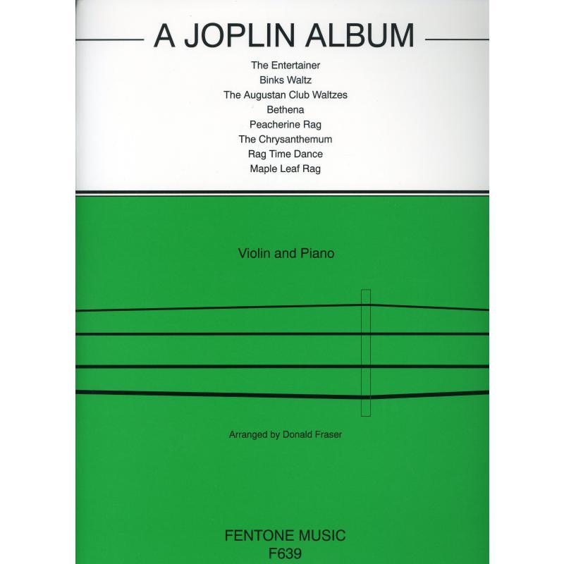 Titelbild für FENTONE 639 - A JOPLIN ALBUM