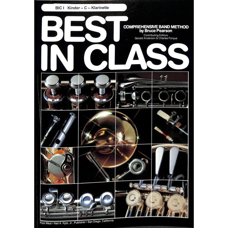 Titelbild für SIEB 24623 - BEST IN CLASS 1 - KINDERKLARINE